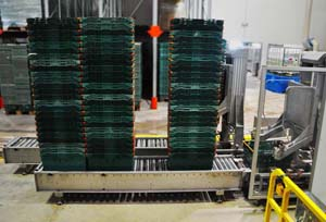Crate Stacking System, AB Vasilopoulos / Delhaize Group