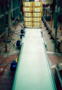 Pallet Chain Conveyor Line
