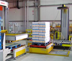 Shuttle with Roller Conveyor